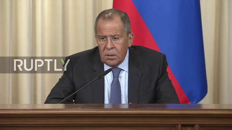Russia 'This boil needs to be lanced' Lavrov on Idlib situation