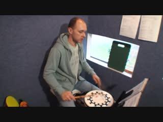 Singl/double/triple paradiddle