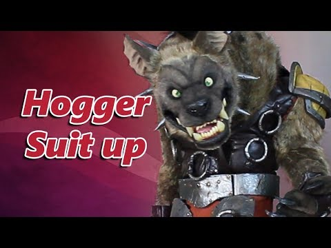 Hogger Cosplay Suit Up how to become a gnoll wantedHogger