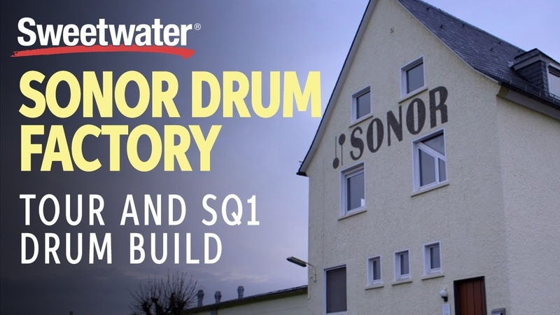 Sonor Drum Factory Tour and SQ1 Drum Build