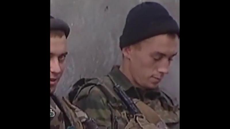 Отрывок из док. фильма о российских контрактниках Контрабасы , 2001 год