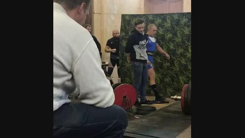 Становая тяга 230 кг, Псков, Галашкин Виталий