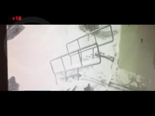 Падение полицейского с 11 этажа +18 Уфа