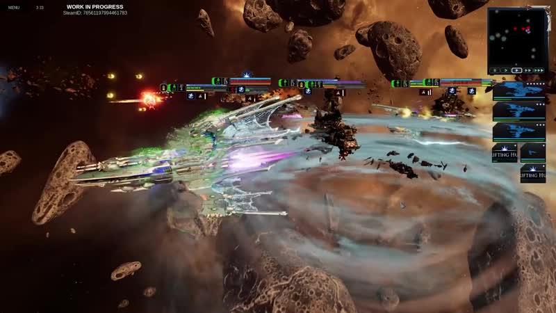 Battlefleet Gothic- Armada 2 - Battle Overview Part 2