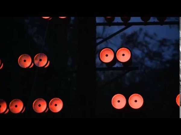 Parliament of Owls at Waddesdon by Bruce Munro 2013