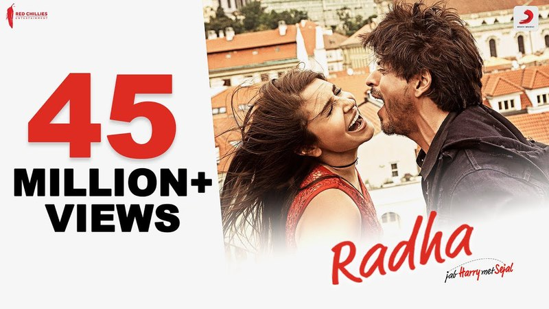 Radha – Jab Harry Met Sejal | Shah Rukh Khan | Anushka Sharma | Pritam | Imtiaz Ali| Latest Hit 2017