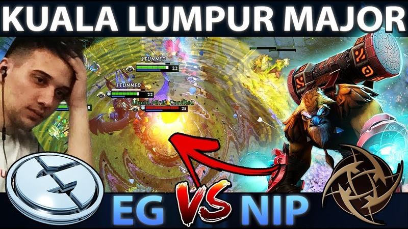 EG vs NiP - KUALA LUMPUR MAJOR - Crazy Earthshaker Echo Slammin' by Standin.MinD_ContRoL Dota 2