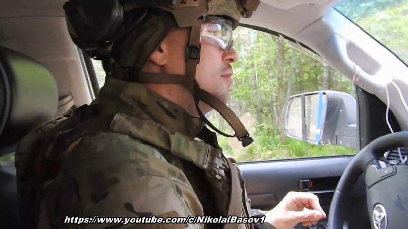 Линия фронта-18.Разминирование мины автомобилем.