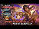 1 Savage | 2 Maniac | 20 Kills Esmeralda 61% Damage Carry Gameplay By Top 2 Global -Mobile Legends