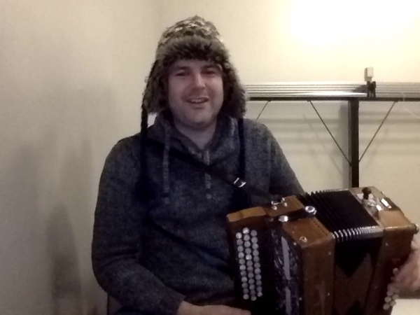 Tim Edey melodeon button accordion Pressed for time by piping legend Gordon Duncan