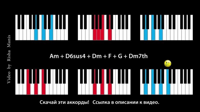 Грустные минорные аккорды