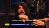Foo Fighters con Mark Hoppus hablando de FRESH POTS!!! - Hoppus on Music