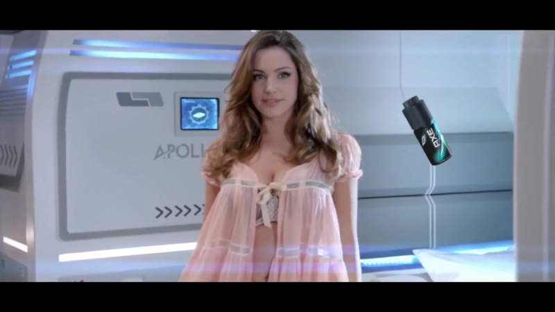HOT SEXY KELLY BROOK AXE APOLLO COMMERCIAL КЕЛЛИ БРУК