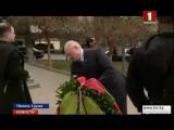 Лукашенко возложил венок к мемориалу героям Грузии в Тбилиси