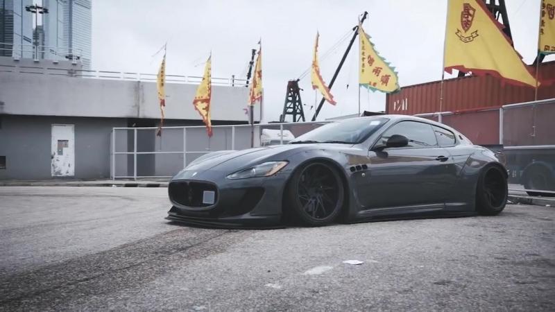 Maserati Granturismo Liberty Walk Fi Exhaust | Perfect Stance