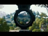 Headshot прыгающему с вышки игроку / PUBG