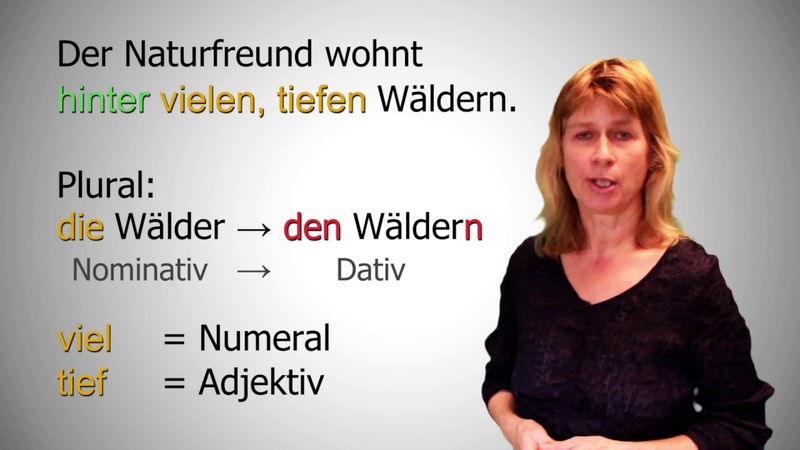 Deutsch lernen 2 - Dativ (Das Fragewort Wo)