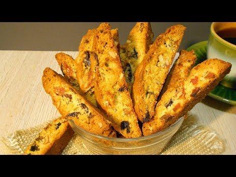 Сухарики Бискотти. Вкуснейшее итальянское печенье!