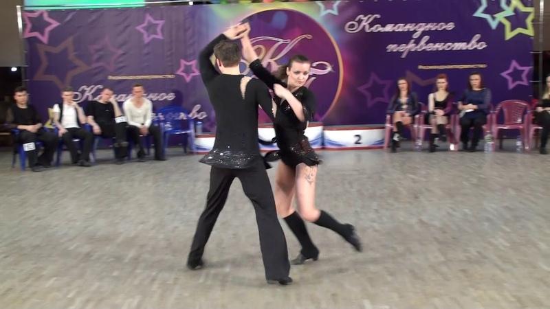 3.6.2018 КП-2 Final JJ Champions Slow 1 место №121 Евгений Дидора - Яна Степочкина