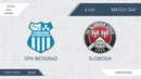 AFL18. Serbia. Super Liga. Day 8. OFC Beograd - Sloboda