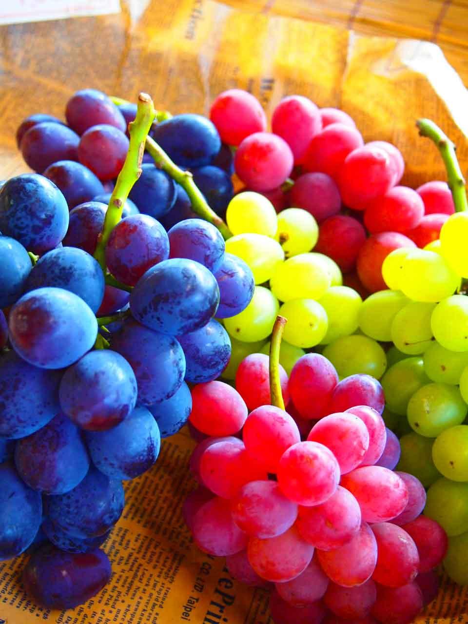 Виноград имеет высокую концентрацию многих витаминов и минералов.