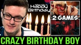 Don't Mess with the Birthday Boy! MIRACLE- Crazy Troll &amp Shadow Fiend