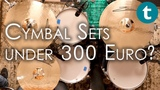 Top 6 Best Cymbal Sets Under 300 Euro Demo