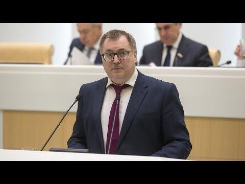 Выступление руководителя Школы Востоковедения Алексея Маслова в Совете Федерации