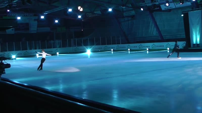 Villars on Ice 2016 From Rehearsal Stéphane Deniss - Quad 3A ...