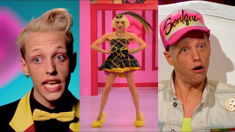 Laganja Estranja Saying Mama, Honey, Cmon, and Okcurr! | Drag Race Supercuts