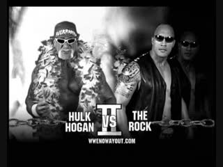Hulk Hogan vs The Rock | WWE «No Way Out» (2003)