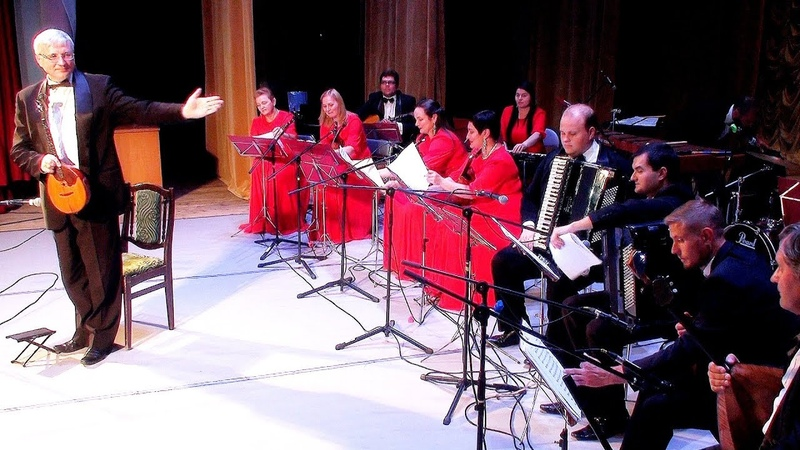 Владимир Кузин (домра и мандолина) - Юбилейный концерт. Часть 2