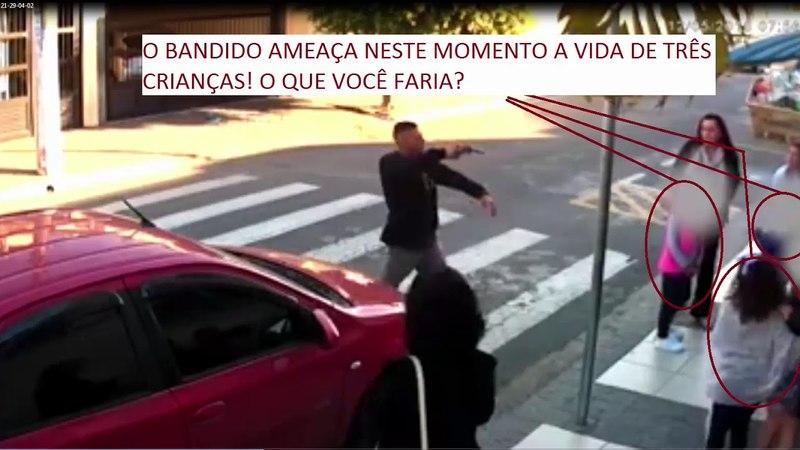 VEREADOR DO PT TEM O PEITO DE CRITICAR A POLICIAL QUE MATOU BANDIDO PARA SALVAR AS CRIANÇAS
