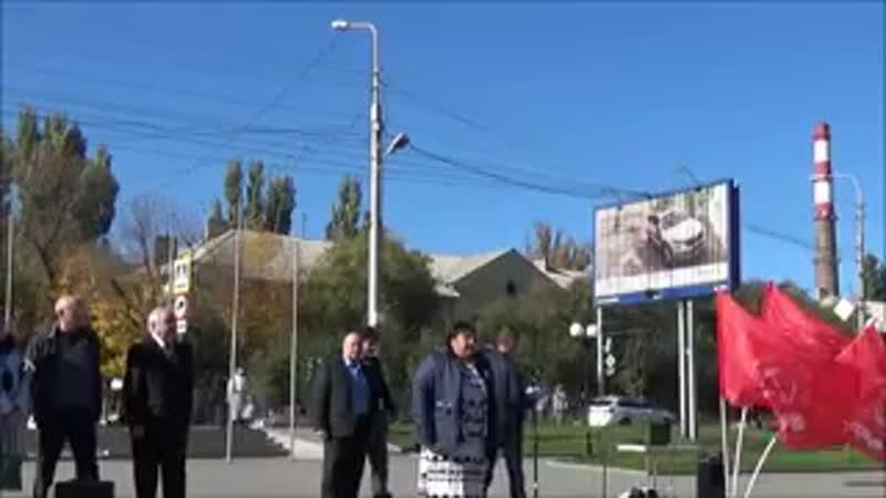 КПРФ за возвращение троллейбуса № 18 в Кировский район г. Волгограда разрешение 240
