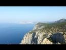 Крым прогулка по мысу Айя Ласпи Куш Кая Батилиман пляж Затерянный Мир Cr