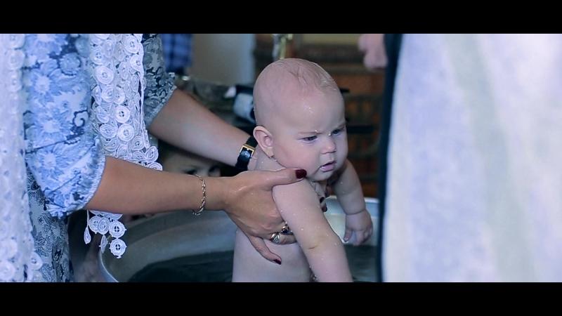 Красивое Православное Крещение в России 2018. Видеосъемка крещения в Новосибирске