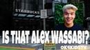 Alex Wassabi at Starbucks? - Will this make him mad? ok4kidstv video 197