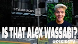 Alex Wassabi at Starbucks - Will this make him mad ok4kidstv video 197