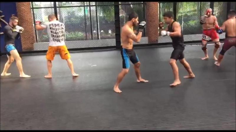 Fairtex vs Venum MMA friendly training part 1