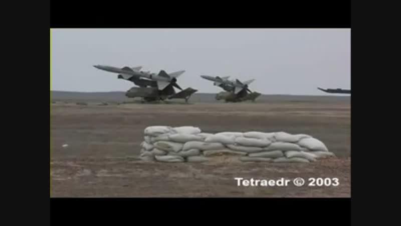 ЗРК С-75 - работа по мишени