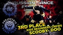 SCOOBY DOO ✪ 3RD PLACE ✪ KIDZ BEGINNER CREWS ✪ RDF18 ✪ Project818 Russian Dance Festival ✪