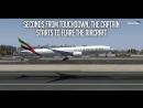 Desperate Escape - Boeing 777 Crash in Dubai - Emirates Airlines Flight 521 - 4K