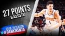 Devin Booker Full Highlights 2019.03.13 Suns vs Jazz - 27 Pts, 6 Assists! | FreeDawkins