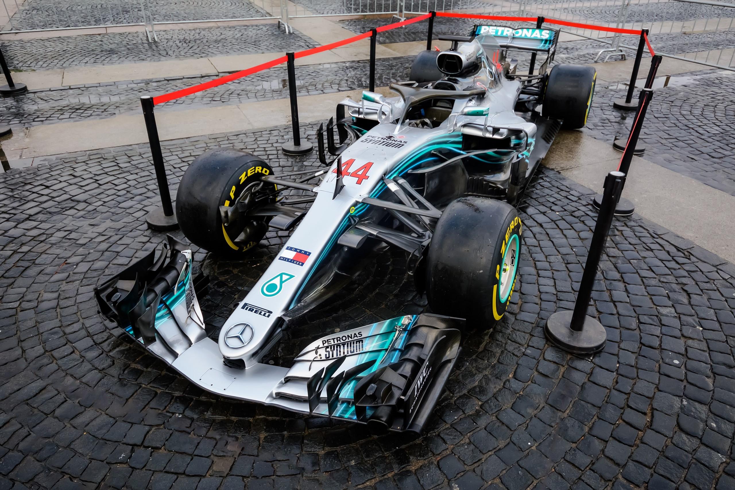 Mercedes W09 F1 EQ Power+ в Петербурге