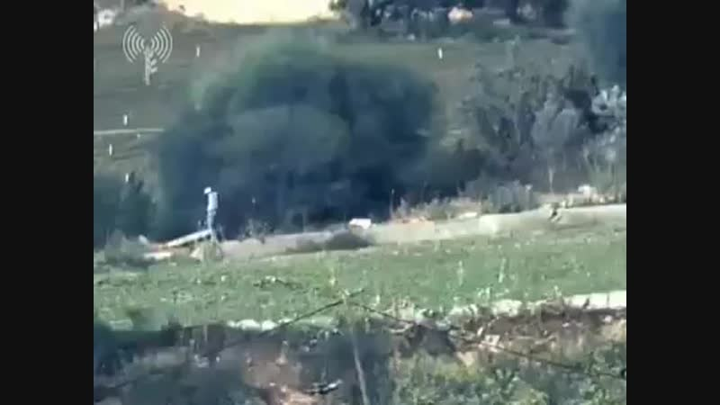 Video of Israeli occupation airstrike that murdered Palestinian civilian Naji Ahmed al Za'anin 25 Gaza Strip this morning