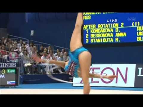 Evgenia Kanaeva - Hoop Ball (Mie RG WC 2009 Day5)