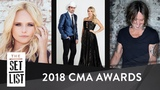 SNEAK PEEK CMA AWARDS 2018 Ft. Miranda Lambert, Keith Urban, &amp Brad and Carrie as Hosts