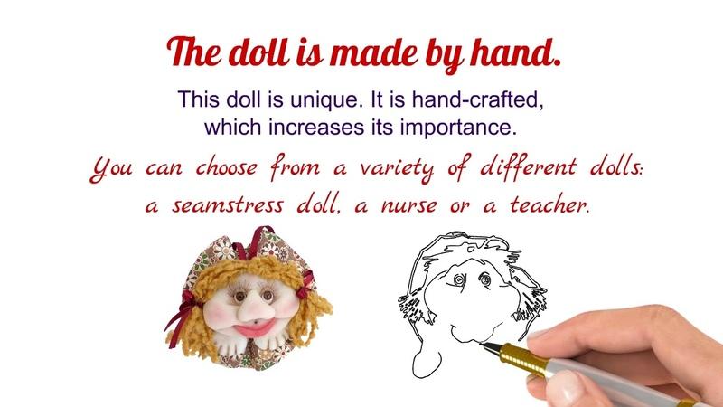 Dolls by handmade gift Bonecas de tecido feito a mão prenda
