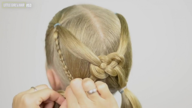 ✿ CELTIC KNOT ✿ Hair Tutorial Quick and Easy hairstyle for little princess 53