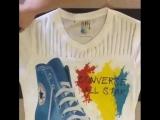 Обновляем старую футболку